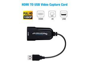 FirstPower HDMI to USB 3.0 Video Capture Card 4K 1080P 60fps Record For Live Streaming