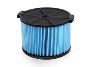 Housmile Replacement 3-Layer Filter for Ridgid 3500 Wet/Dry Vacuums for Ridgid WD4050 3-4.5 Gallon Portable Vacuums, Blue
