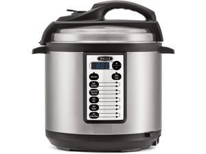 10-In-1 Multi-Use Programmable Pressure Cooker, Slow Cooker, Rice Cooker, Steamer, Sauté Warmer with Searing and Browning Feature, 6 Quart, 1000 Watts (14467)