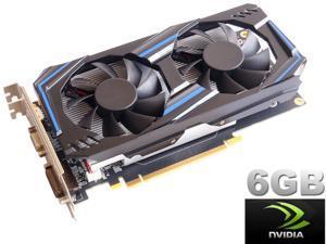HSCCGI GeForce GTX550Ti 6GB GDDR5 192bit/ PCI Express 2.0 x11 Standard ATX Video Card HDMI+DVI+VGA