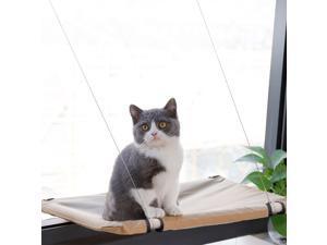 PAWISE Cat Window Perch Kitty Hammock Window Seat Cat Resting Sunny Seat Window Mounted Cat Bed