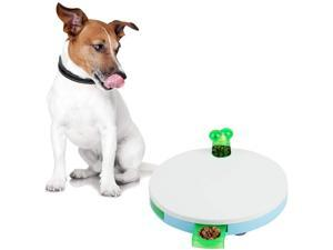 PAWISE Interactive Dog Spinning Feeder, Treat Dispenser Training Toys for Dogs