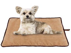 PAWISE Pet Cushion Dog Cat Mat Washable Mattress Teflon Defender Dog Beds Dog Cushion Crate Cage Puppy Bed