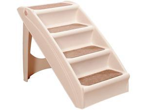 PAWISE Foldable Dog Step Premium Nonslip Stairs for Dogs and Cats to Walk