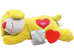All for Paws Heartbeat Puppy Sleep Toy, Behavioral Aid Warm Plush Toys for Dogs