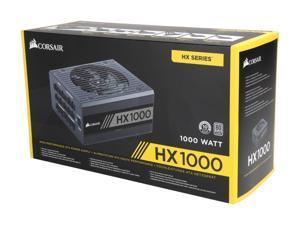 (Ship by Fedex)CORSAIR HX Series HX1000 CP-9020139-NA 1000W ATX12V v2.4 / EPS12V 2.92 80 PLUS PLATINUM Certified Full Modular Power Supply