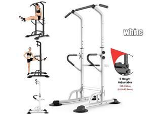 Power Tower Pull Push Chin Up Bar Fitness Body Exercise Equipment Power Tower Pull Up Bar-441LBS Weight Capacity