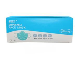 50pcs Disposable Face Mask - 95%+ BFE Tested - Ships from USA - Protective Mask