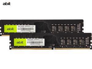 Abit 8G 3000 Frequency DDR4 Desktop Memory Bar 16GB (2 x 8GB) Desktop Memory 3000