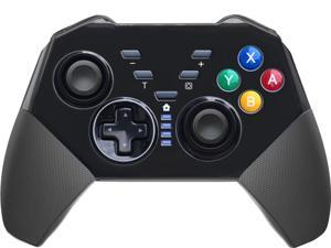 Wireless Switch Pro Controller for Nintendo Switch Console - Black Remote Gamepad Joystick with Gyro and Gravity Sensor, Dual Vibration, Turbo and Capture Function (Black)