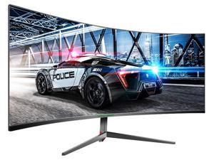 """TITAN ARMY 30"""" 200Hz Gaming Monitors 1ms Response FreeSync 21:9 PIP/PBP Display 144Hz 2560x1080 1800R Curved PC Monitor Ultra Wide RTS/FPS Game Scene Mode VA Panel (VESA is not supported)(C30SK-PRO)"""