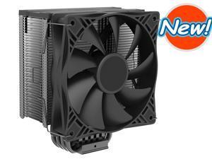 CPU Air Cooler GI-X4SD Moonlight Series   SilentPro PWM CPU Fan 120mm    4 Direct Contact Heat Pipes, Aluminum Fins for AMD Ryzen/Intel LGA2066/2011/1150/1151/1155/1156/775/1366