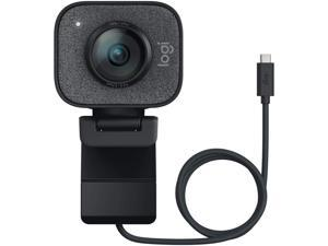 Logitech StreamCam, 1080P HD 60fps Streaming Webcam with USB-C and Built-in Microphone