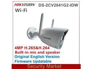 Hikvision 2CV2046G0-IDW 2.8mm 4MP Wireless Bullet IP Camera IR 30m SD Card Slot Waterproof Replace 2CV2041G2-IDW Network Cam