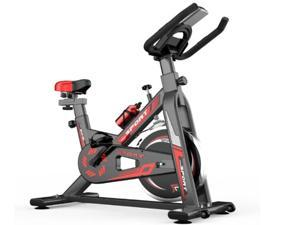 Indoor Profession Cycling Bike Silent Belt Drive Cycle Bike with Adjustable Handlebars & Seat