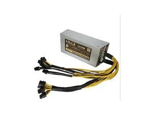 Power Supply 2200W  80% Efficiency 2200W Mining Power Supply For Antminer Miner S9 S7 APW3 L3+ D3 AC 110~240 V with 10pcs 6PIN