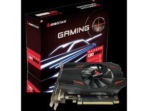 Desktop Graphics Cards Biostar Radeon RX 550 4GB GDDR5 128-Bit DirectX 12 PCI Express 3.0 DVI-D Dual Link, HDMI, DisplayPort. Gaming Edition
