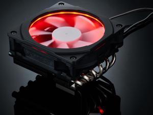 Phanteks PH-TC12LS_RGB 120mm UFB (Updraft Floating Balance) Bearing CPU Cooler with RGB Halos 53.3 CFM