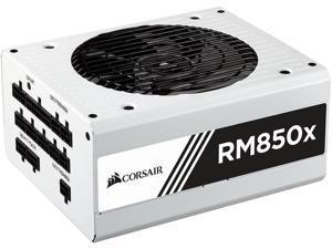 Corsair RM850x White Series Full Modular 80PLUS Gold ATX Power Supply Unit - White