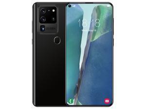 Unlocked Android Smartphone, S21 Ultra, 1GB+8GB, 6.9 inch Pole-notch Screen, Face ID & Fingerprint Identification, Android 6.0 MTK6580M Quad Core, Network: 3G