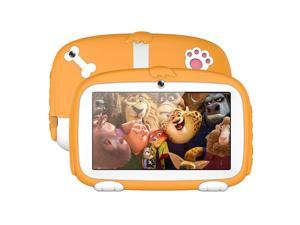 Kids Tablet, A718 Kids Education Tablet PC, 7.0 inch, 1GB+16GB, Android 6.0 Allwinner A33 Quad Core 1.3GHz, Support WiFi / TF Card / G-sensor, with Dog Pattern Silicone Case