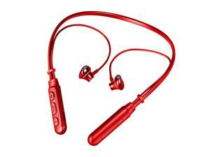 Bluetooth Headphones, BT-93 Bluetooth5.0 Wireless Headset Waterproof Sport Earbud with Noise Cancelling Mic Magnetic Neckband Earphones