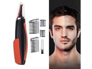Facial Mustache Beard Eyebrow Electric Shaver Hair Trimmer for Men