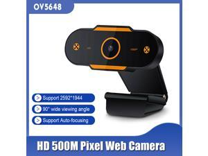 2K HD Stream Webcam with Microphone - HD Streaming & Recording at 30Fps - 500M Pixel Auto-focusing Web Camera Resolution 2592*1944