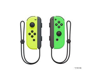 GAMING Switch Controller Compatible with Nintendo Switch Joycon Left and Right Controllers without Straps - Yellow/Green