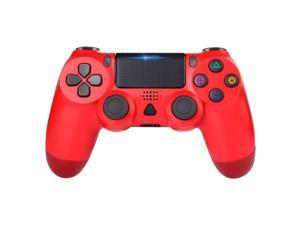 PS4 Controller Wireless, Dual Shock High Performance Gaming Controller for PS 4 /Pro/Slim/PC with Audio Function, Mini LED Indicator
