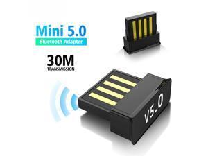 Mini USB Bluetooth 5.0 Adapter Wireless Computer Adapter Audio Receiver Transmitter Dongles Laptop Earphone BLE Mini Sender