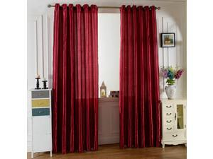 Blackout Curtains for Bedroom-Pole Thermal Insulated Room Curtains for Living Room, Set of 2 Panels (W39.37*L79.84inch)