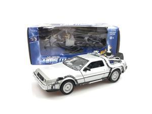 Welly 1:24 Diecast DeLorean DMC Back To The Future 2 Time Machine Car Model 22441