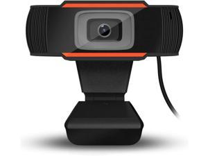 HD Webcam with Microphone, USB 2.0 Camera for Computer, 1080P Web Video Camera for PC Laptop Desktop Conferencing & Working, 2-Way Audio Talk, Multiplayer Call, Wide 110° Viewing Angle
