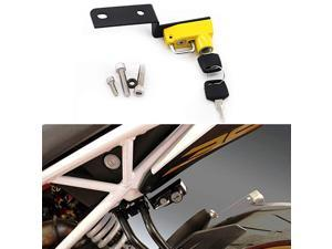 Helmet Lock AntiTheft For KTM DUKE 125250390 2017 up Yellow