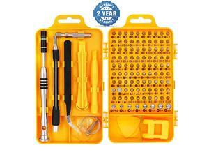 Screwdriver Set Magnetic - Professional 110 in 1 Screw driver Tools Sets, PC Repair Tool Kit for Mobile Phone/Tablet/Computer/Watch/Camera/Eyeglasses/Other Electronic Devices