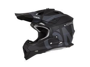 0200-S14 2Series Adult Helmet, Slick (Black/Gray, LG)