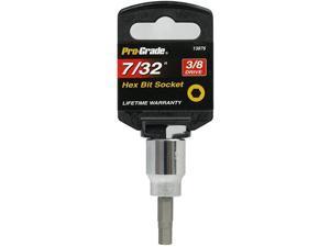 """Tools 13876-3/8"""" Dr. 7/32"""" Hex Bit Socket"""