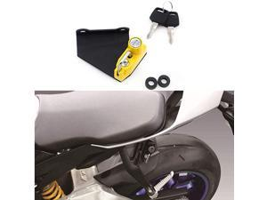 Helmet Lock AntiTheft For Yamaha YZFR1M 2015 and later YZFR6 2017 and later Yellow