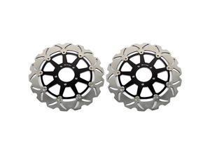 Front Brake Discs Rotors for Suzuki GSXR600 GSXR750 1997-2003/ GSXR1000 2001 2002 /Hayabusa GSX1300R 1999-2007/ TL1000R TL1000S 98-01