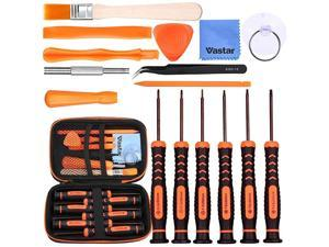 16Pcs Triwing Screwdriver Set for Nintendo - Full Professional Screwdriver Bit Repair Tool Kit with S2 Steel for Nintendo New 3DS/2DS XL/NES/SNES Classic (2017)/Nintendo NDS/NDS