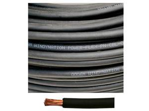 Gauge AWG 400 Feet Black Welding Battery Pure Copper Flexible Cable Wire - Car, Inverter, RV, Solar