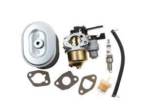 Carburetor for Honda GX160 5.5HP GX200 6.5 HP Engine Harbor Freight Predator 212cc Homelite Pressure Washer 179CC 180cc DJ165F 2700PSI 2.3GPM UT80522D with Air Filter Spark Plug Fuel Filter