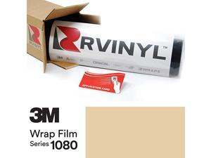 2080 G12 Gloss Black 5ft x 13ft W/Application Card Vinyl Vehicle Car Wrap Film Sheet Roll