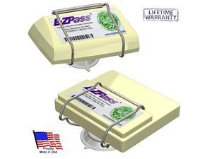 EZ Pass-Port - Indestructible Holder fits Mini & Old Size EZ Pass (not The Flex or HOV Switch Models), I Pass, I Zoom, PalPass Hard case & FasTrak transponders. Holder only- Made in USA