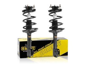 Shocks and Struts 2PCS Coil Spring Suspension Struts Kit Front Struts 11891 11892 171453 171454 Complete Shocks Struts Assembly Compatible with RAV4 AWD 2001 2002 2003 2004 2005
