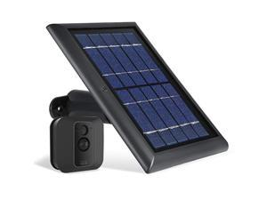 Solar Panel with Internal Battery Compatible with Blink Outdoor Blink XT2XT Camera 1Pack Black