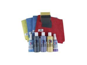 Kit - Safest Way to Remove Clear Coat Scratches. It's All in Box - Nothing Else Needed for Professional Results.