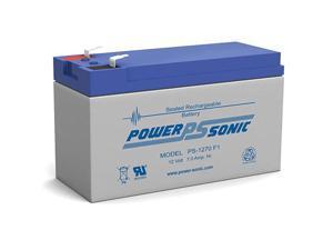 PS-1270F1 12 Volt 7 Amp Sealed Lead Acid Battery