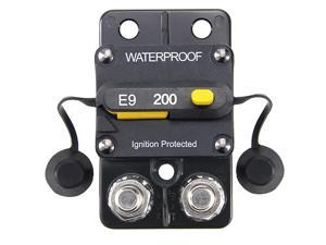 12-48V DC 200A Surface Mount Circuit Breaker with Manual Reset Waterproof 200Amp